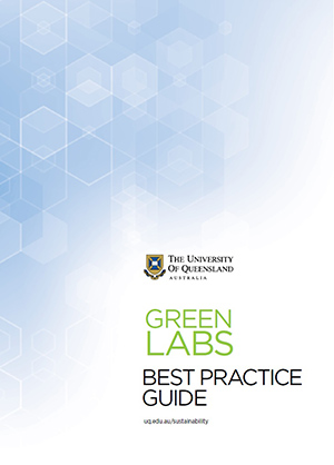 Cover page of the Green Labs best practice guide