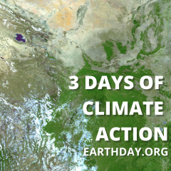 3 days of climate action - EARTHDAY.ORG
