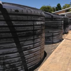 Gatton's new rainwater tanks