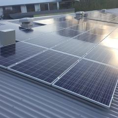Munro solar panels