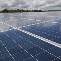 Solar install milestone