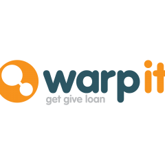 This is the WarpIt logo