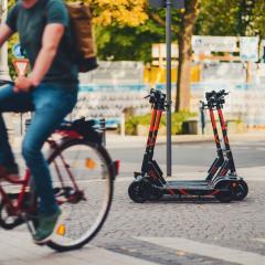 E-bikes and e-scooters